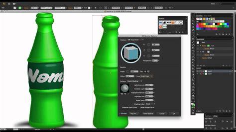 Illustrator 3d Model