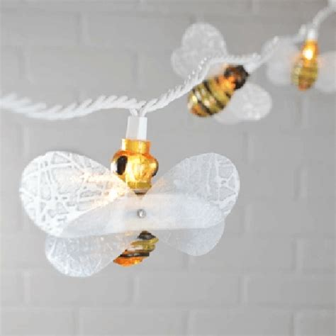 honey bee string lights honey bee string lights novelty lights accent lighting