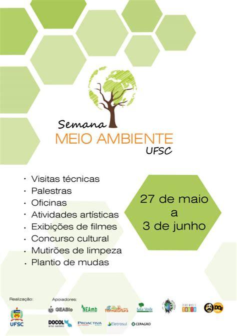 Calend Ufsc 2018 Semana Do Meio Ambiente Ufsc Junho 2015 Arquivo
