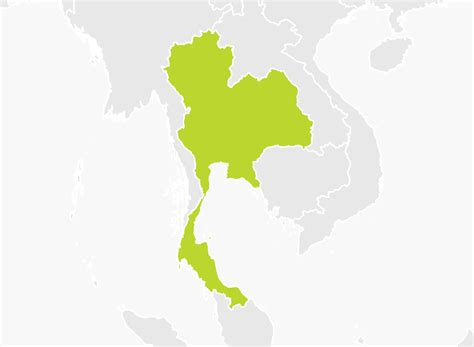 map thailand map of thailand tomtom