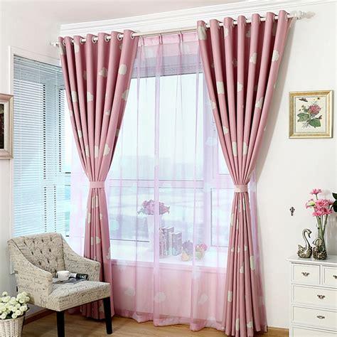 cloud print curtains high quality blackout curtain cloud printing student