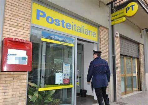 ufficio postale santa capua vetere rapina choc alle poste irrompe commando armato edizione