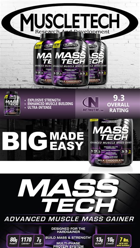 Masstech Muscletech muscletech mass tech