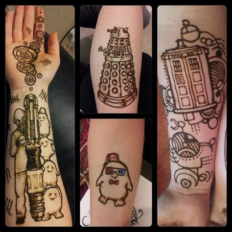 doctor tattoo doctor who henna tattoos ink dr who