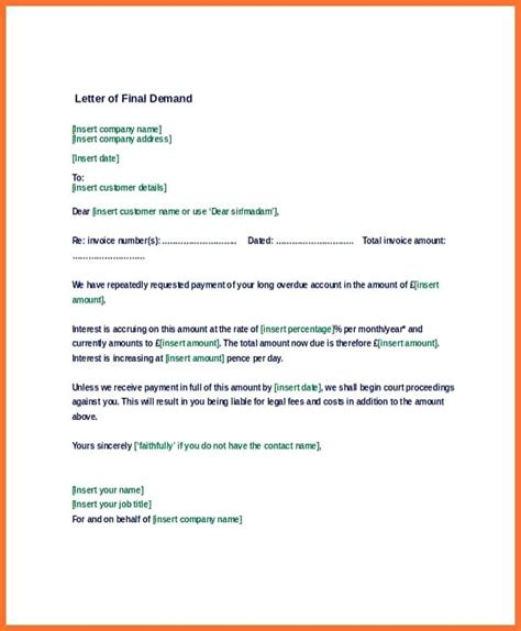 Demand Letter Sle For Refund Demand Letter For Return Of Personal Property Demand