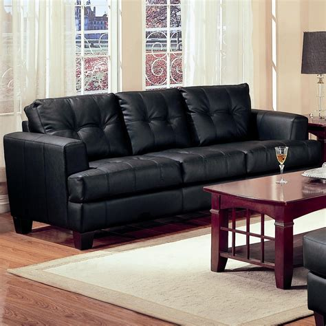 Leather Sofas Los Angeles Samuel Black Leather Sofa A Sofa Furniture Outlet Los Angeles Ca