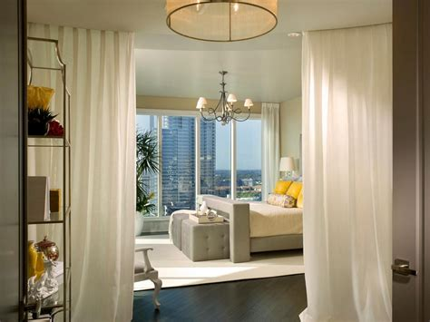 Apartment Curtain Ideas with Room Divider Ideas For Studio Apartment