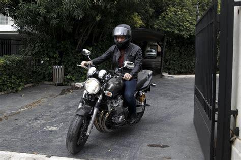 Motorrad Jeans B Se by Varoufakis Centauro Il Ministro Con Chiodo Se Ne Va In