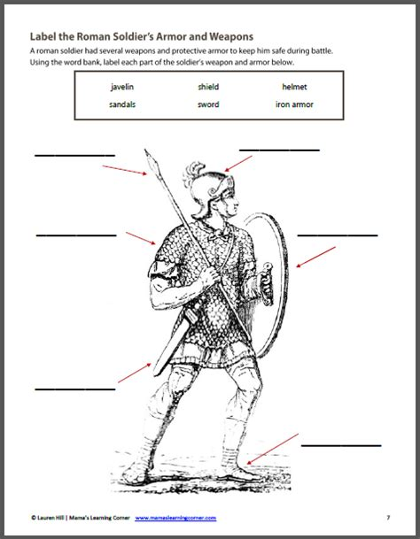ancient rome worksheets ancient rome worksheet packet for 1st 3rd graders mamas learning corner