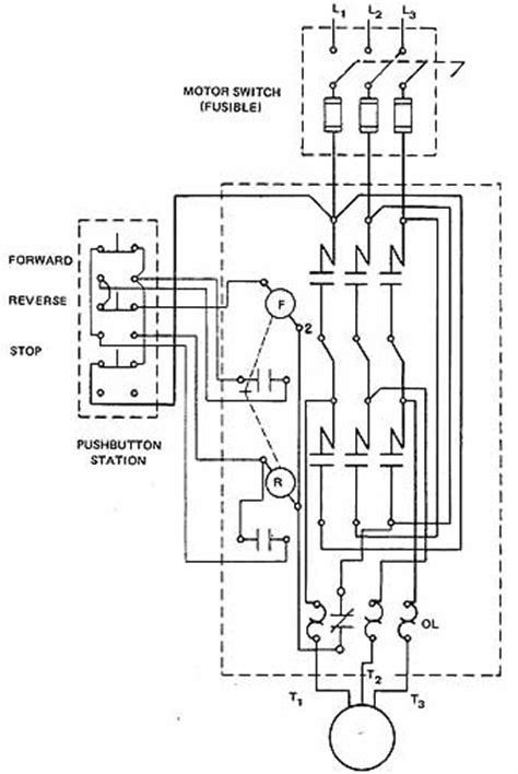 magnetic starter wiring wiring diagram with description