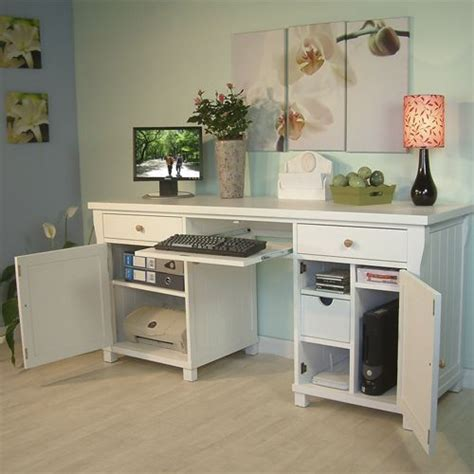 Hideaway Desk Ideas Fairmont White Computer Hideaway Desk Clever Way To Hide Computer Equipment Office Ideas