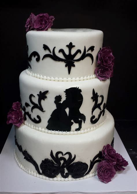 Fall in Love With These Disney Inspired Wedding Cakes   Oh My DIsney, Yum