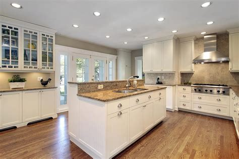 white kitchens with islands gourmet kitchens and cabinets hannegan construction