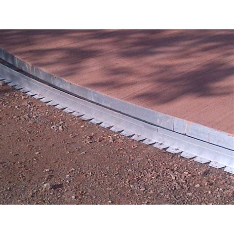 bordure de jardin en bordure de jardin en aluminium pour lignes arrondies neoverda