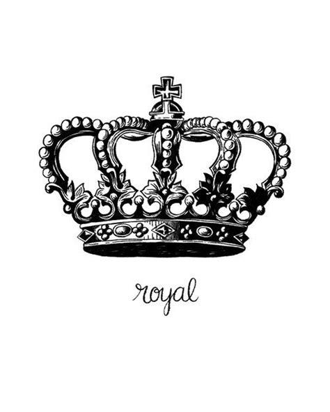 Printable Art, Royal Crown, Royalty Printable, Queen, King