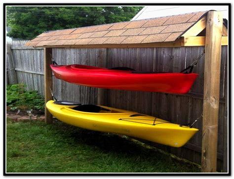 boat dock kayak storage outdoor kayak storage shed dam house dock pinterest