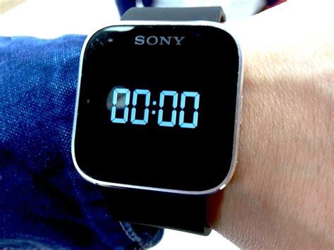 Smartwatch Sony Mn2 Sony Smartwatch Mn2 Clock