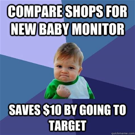 Meme Monitor - compare shops for new baby monitor saves 10 by going to