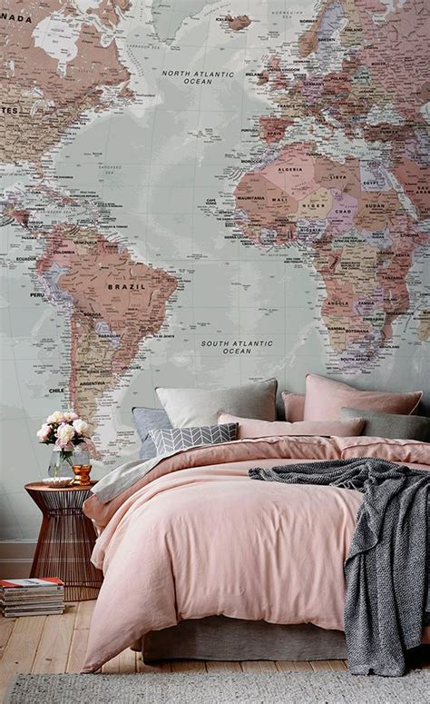 World Bedroom by Best 25 World Map Bedroom Ideas On World Map