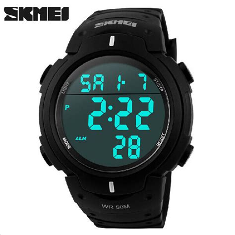 Skmei 1068 Sports Digital Led Merah buy skmei 1068 led digital big warterproof outdoor