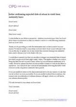 Maternity Leave And Pay Cipd Hr Inform Maternity Return To Work Letter From Employer Template