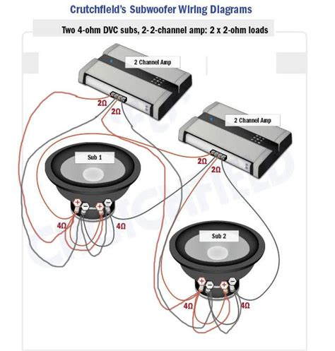 crutchfield sub wiring diagrams wiring diagram with