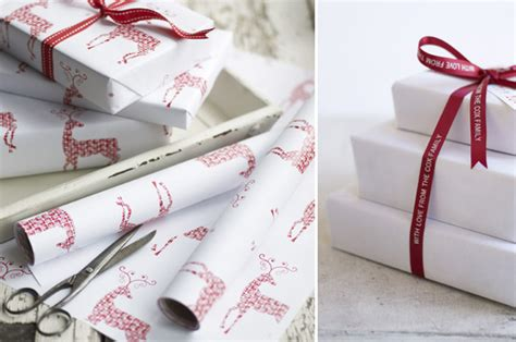 christmas gift wrapping at home with kim vallee