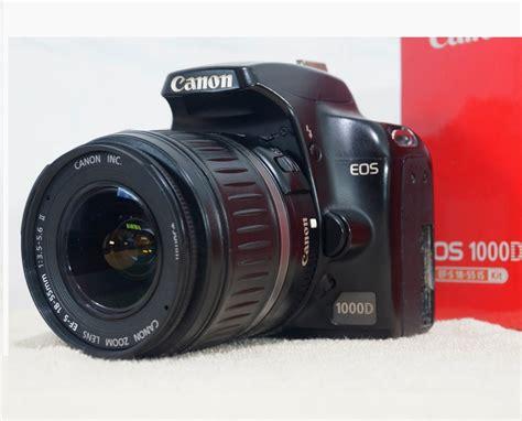 Kamera Canon 1000d Bekas jual canon eos 1000d kamera dslr bekas jual beli laptop second dan kamera bekas di malang