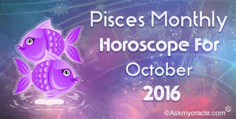 Pisces Monthly Horoscope by Ask Oracle Scorpio October Monthly Html Autos Post