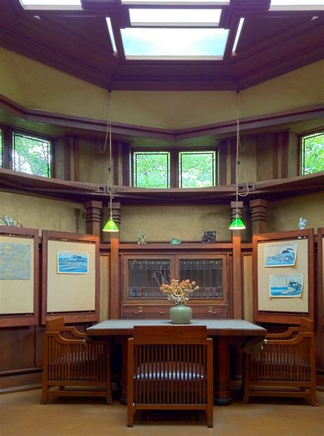 an evolving aesthetic frank lloyd wright s home studio