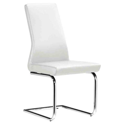 modern white dining chairs home furniture design