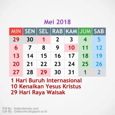 design kalender 2018 cdr 3 kalender 2018 cdr file simple kalender indo mei