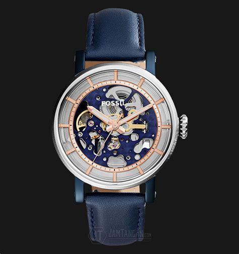 Jam Tangan Fossil Skeleton 8 fossil jam tangan wanita es4113 original boyfriend sportchronograph blue leather