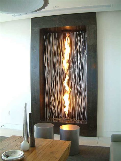 Adding An Interior Wall by Decorative Fireplaces Adding Stylish Accents To Interior