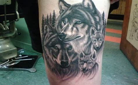 wolfpack tattoo 6 powerful wolf designs for menscosmo