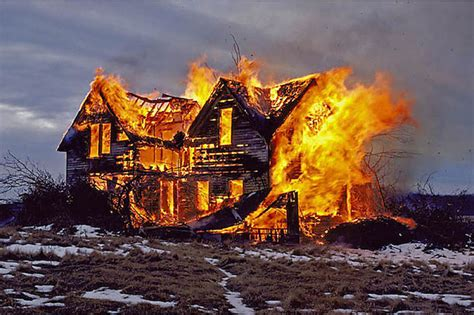 this burning house your house is burning down you can only save one record