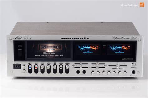 marantz cassette marantz model 5220 cassette deck for sale