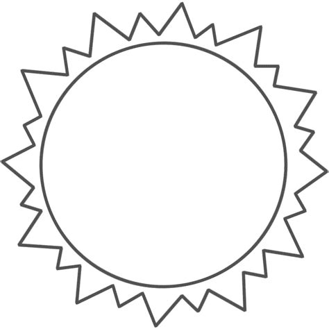 sun template www imgkid com the image kid has it