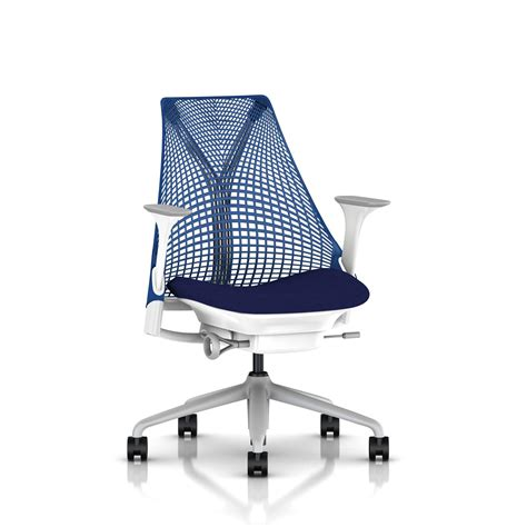 Herman Chair by Herman Miller Berry Blue Sayl Chair Office Furniture