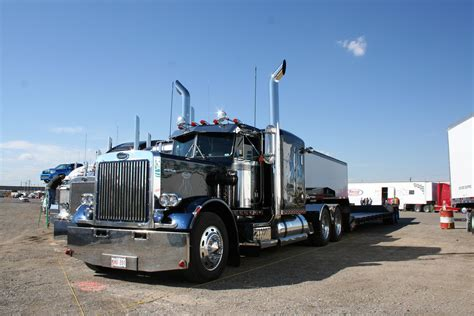 peterbilt show trucks ab big rig weekend 2007 pro trucker magazine canada s