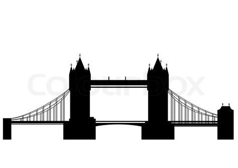 thames river vector tower bridge is a combined bascule and suspension bridge