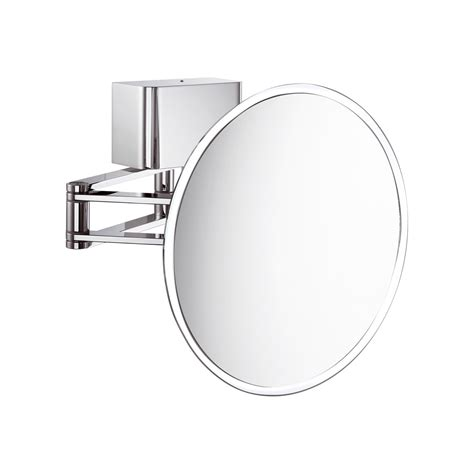extending bathroom mirror kosmetik led extendable magnifying mirror designer