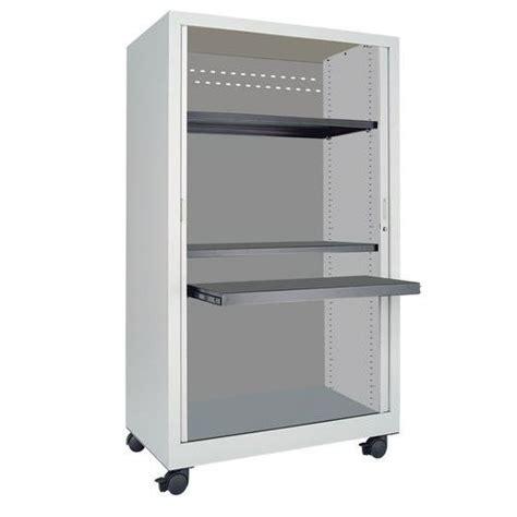 armadio a serranda armadio multimediale mobile con ante a serranda in lamiera