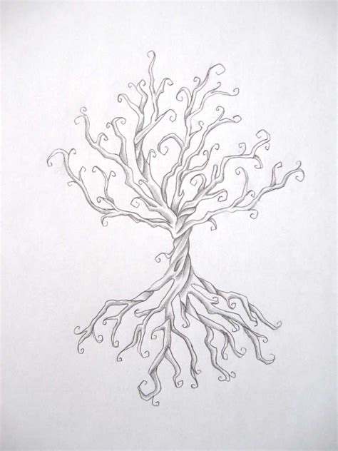 twisted tree tattoo designs tree by daniellehope on deviantart