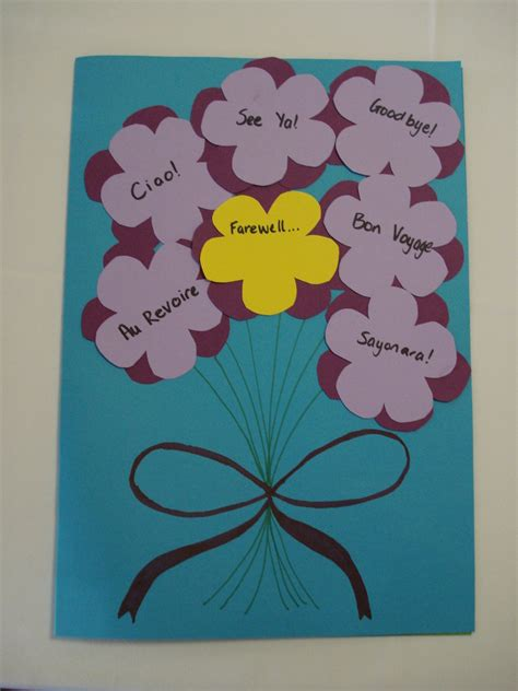 how to make goodbye cards farewell card front by aussiesheila on deviantart