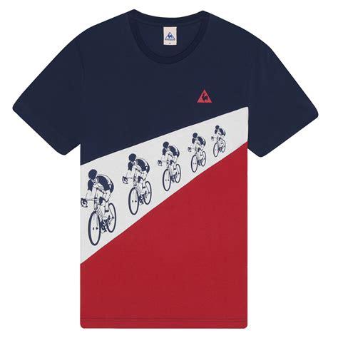 T Shirt 6 wiggle le coq sportif tdf n 176 6 t shirt t shirts