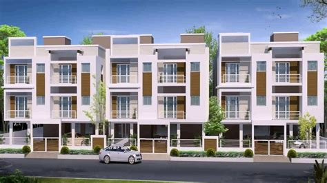 row house design photos