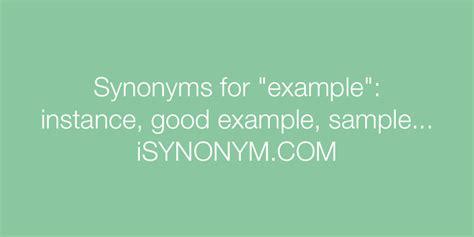 pattern model synonym synonyms for exle exle synonyms isynonym com
