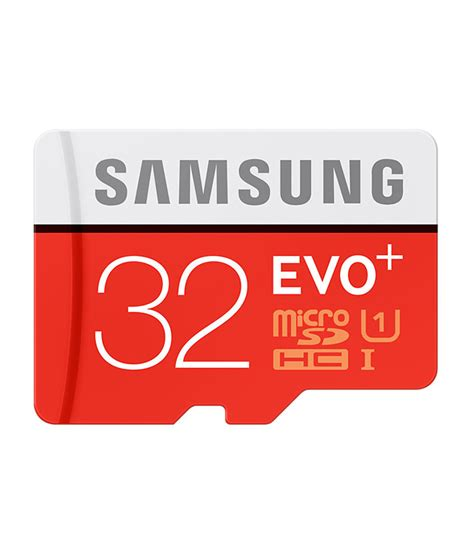 Micro Sdhc 32gb buy samsung evo 32gb class 10 micro sdhc 80mbps with adapter in india 81818438