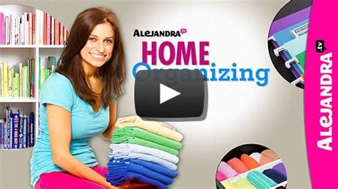 organizing guru alejandra costello on decluttering and party invitations ideas 17 best images about home organizing videos on pinterest